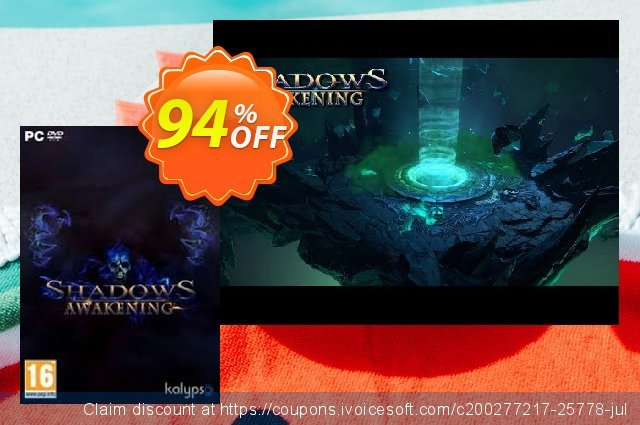 Shadows Awakening PC discount 86% OFF, 2020 End year offering sales