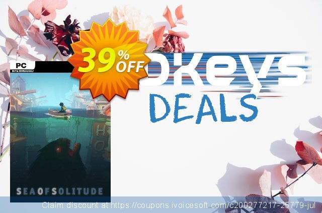 Sea of Solitude PC discount 43% OFF, 2020 Black Friday offering sales