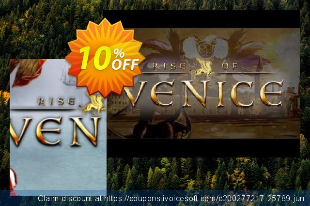 Rise of Venice PC discount 10% OFF, 2020 Thanksgiving offering sales