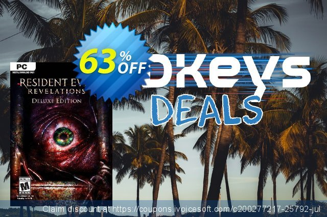 Resident Evil Revelations 2: Deluxe Edition PC discount 46% OFF, 2020 Thanksgiving promo