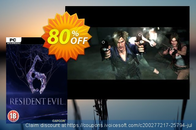 Resident Evil 6 PC discount 70% OFF, 2020 Black Friday offering sales