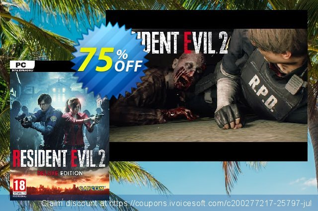 Resident Evil 2 / Biohazard RE2 Deluxe Edition PC  대단하   촉진  스크린 샷