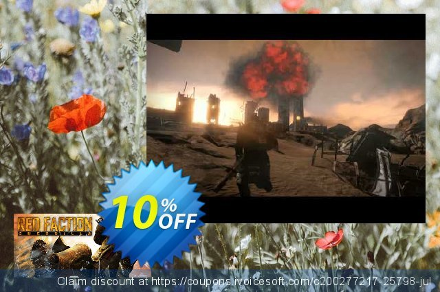 Red Faction Guerrilla Steam Edition PC discount 10% OFF, 2020 Thanksgiving offering sales
