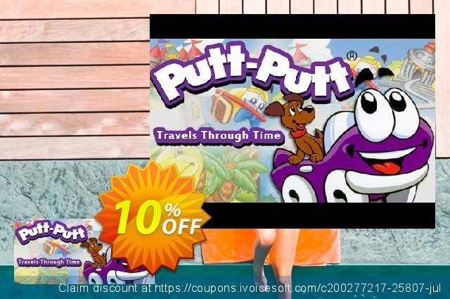 PuttPutt Travels Through Time PC 大的 产品销售 软件截图