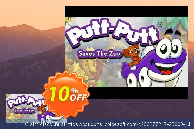 PuttPutt Saves The Zoo PC discount 10% OFF, 2020 Christmas offering deals