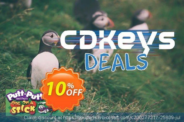 PuttPutt and Pep's Dog on a Stick PC discount 10% OFF, 2020 Black Friday offering deals