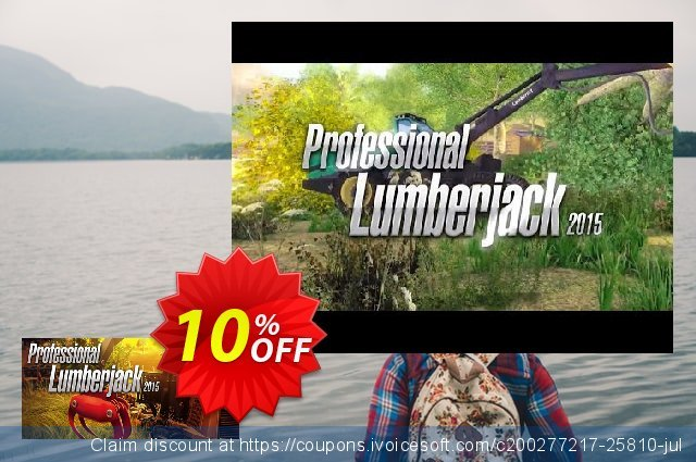 Professional Lumberjack 2015 PC discount 10% OFF, 2020 Thanksgiving promo sales