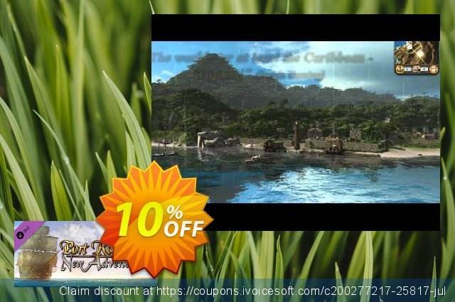 Port Royale 3 New Adventures DLC PC discount 10% OFF, 2021 National Coffee Day offering sales. Port Royale 3 New Adventures DLC PC Deal