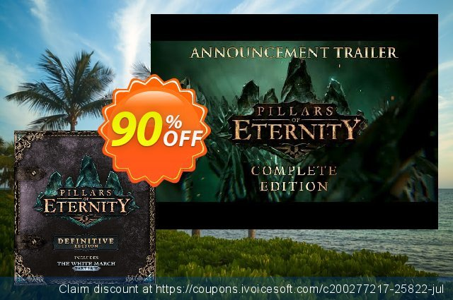 Pillars of Eternity - Definitive Edition PC discount 81% OFF, 2020 Thanksgiving sales