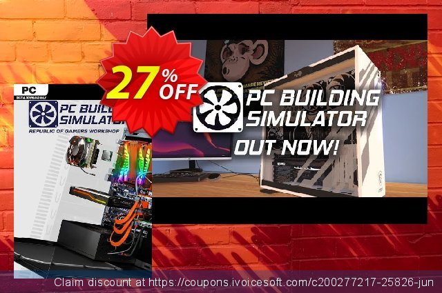 PC Building Simulator - Republic of Gamers Workshop DLC discount 42% OFF, 2020 Thanksgiving Day offering discount