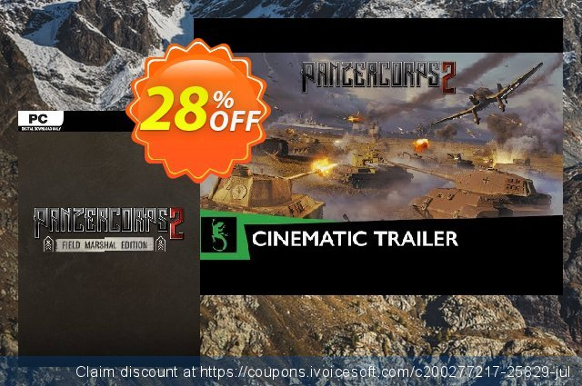 Panzer Corps 2 - Field Marshal Edition PC discount 33% OFF, 2020 Thanksgiving Day promo sales