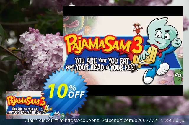 Pajama Sam 3 You Are What You Eat From Your Head To Your Feet PC  훌륭하   세일  스크린 샷