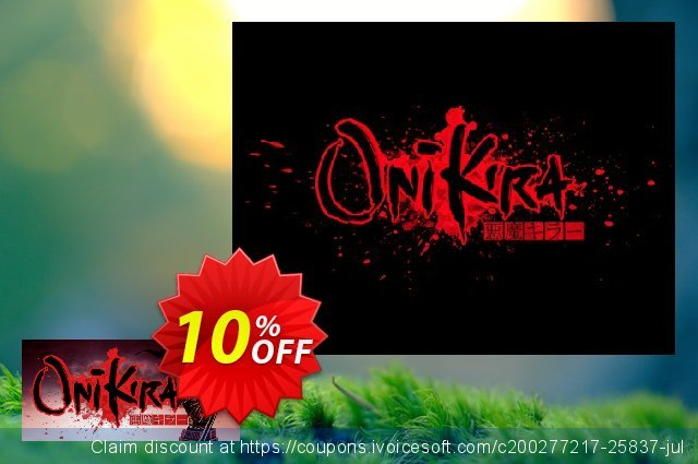 Onikira Demon Killer PC discount 10% OFF, 2020 Back to School promo offering sales