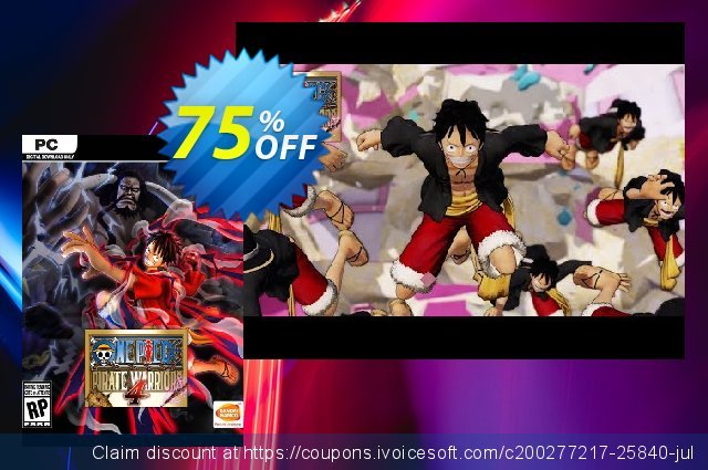 One Piece: Pirate Warriors 4 PC discount 19% OFF, 2021 Happy New Year promo