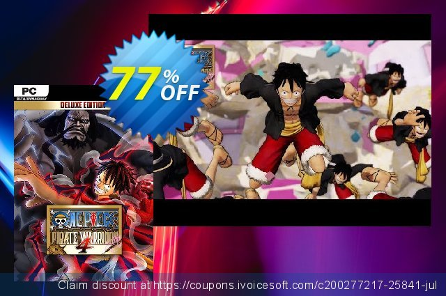 One Piece: Pirate Warriors 4 - Deluxe Edition PC discount 17% OFF, 2020 Thanksgiving Day sales