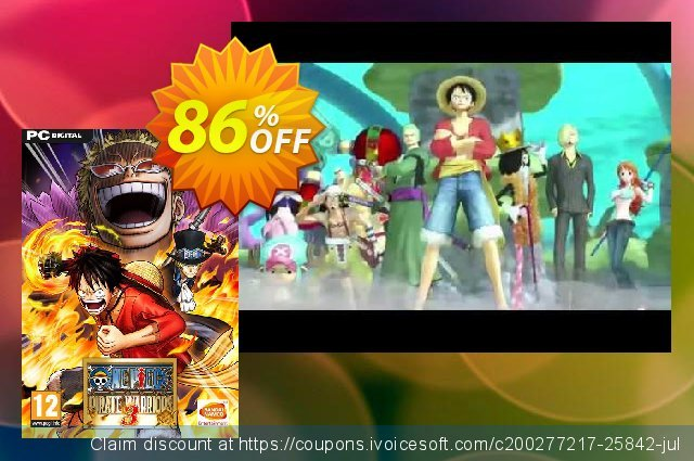 One Piece Pirate Warriors 3 PC discount 80% OFF, 2020 Black Friday deals