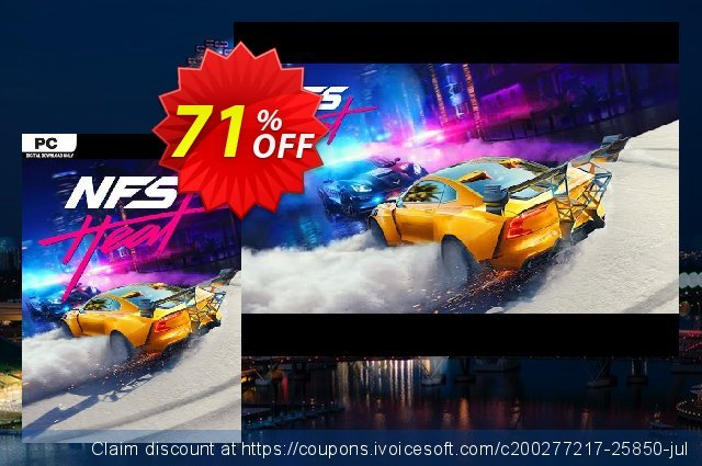 Need for Speed: Heat PC (EN) discount 58% OFF, 2020 Thanksgiving Day offering sales