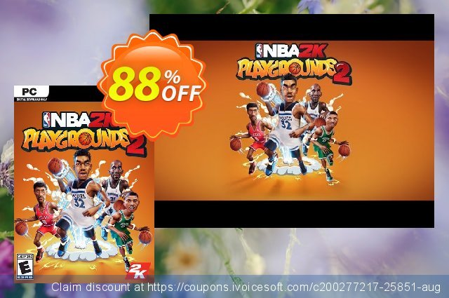 NBA 2K Playgrounds 2 PC (EU) discount 78% OFF, 2020 Black Friday offering sales