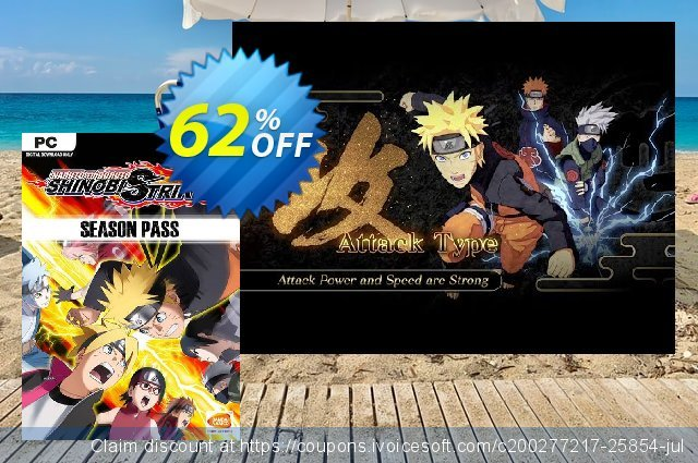 Naruto To Boruto Shinobi Striker - Season Pass PC discount 77% OFF, 2020 Black Friday offering sales