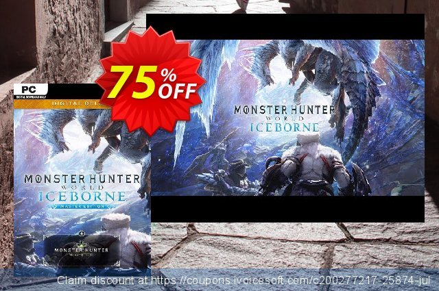 Monster Hunter World: Iceborne Master Edition Deluxe PC  경이로운   매상  스크린 샷