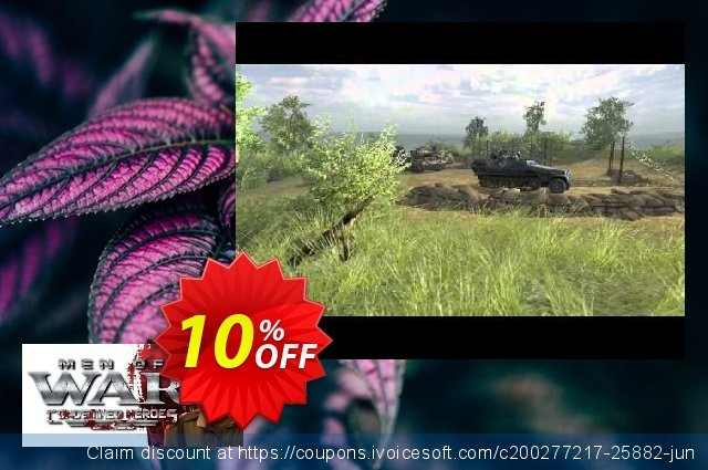 Men of War Condemned Heroes PC discount 10% OFF, 2020 Thanksgiving discount