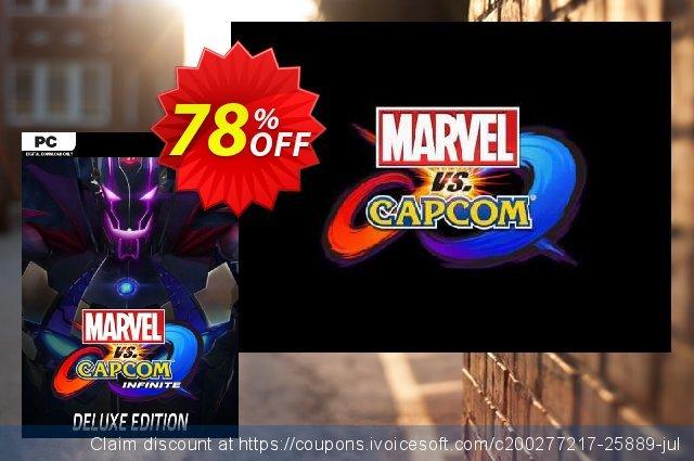 Marvel vs. Capcom Infinite - Deluxe Edition PC  최고의   제공  스크린 샷