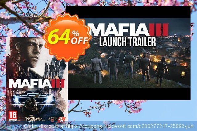 Mafia III 3 PC discount 72% OFF, 2020 Christmas Day offering sales