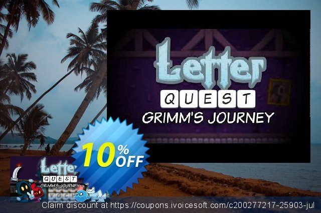 Letter Quest Grimm's Journey PC discount 10% OFF, 2020 Thanksgiving offering sales