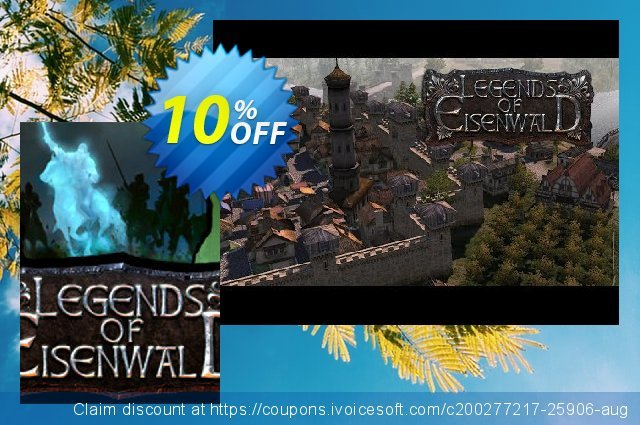 Legends of Eisenwald PC discount 10% OFF, 2020 Thanksgiving promo