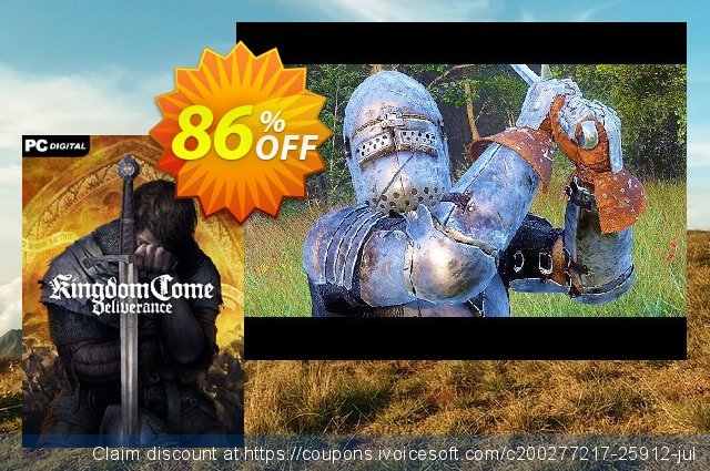 Kingdom Come: Deliverance PC discount 58% OFF, 2021 Happy New Year offering discount