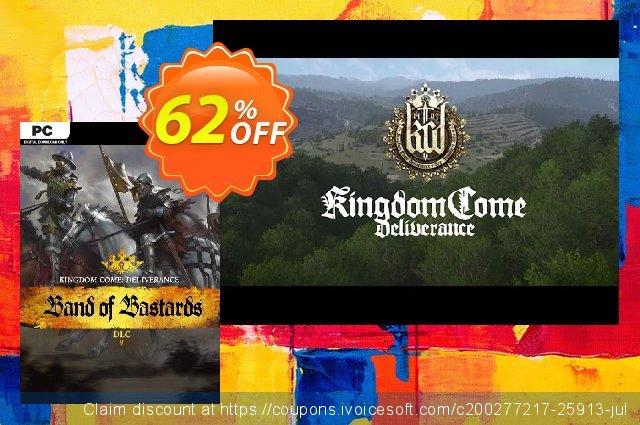 Kingdom Come Deliverance PC – Band of Bastards DLC 대단하다  가격을 제시하다  스크린 샷