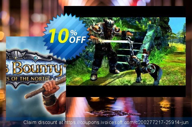 King's Bounty Warriors of the North PC discount 10% OFF, 2020 Black Friday offering sales