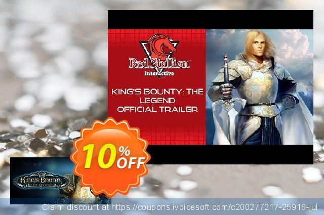 King's Bounty The Legend PC discount 10% OFF, 2020 Thanksgiving Day promotions
