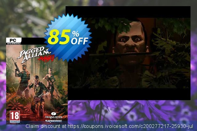 Jagged Alliance : Rage! PC discount 85% OFF, 2020 Thanksgiving offering sales