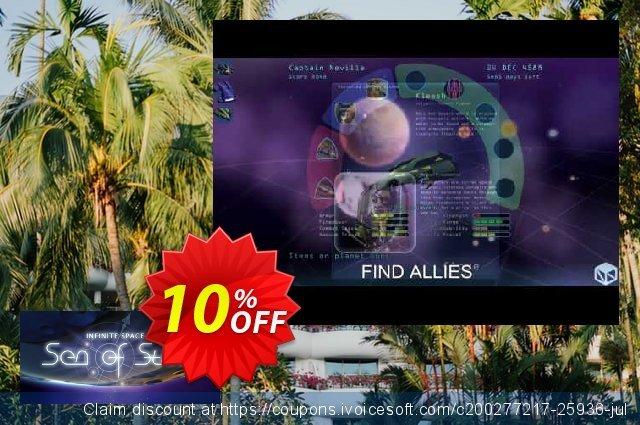 Infinite Space III Sea of Stars PC discount 10% OFF, 2020 Christmas & New Year deals