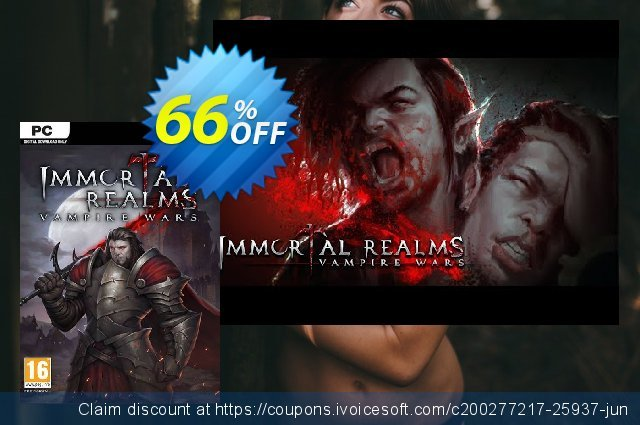 Immortal Realms: Vampire Wars PC (EU) 대단하다  촉진  스크린 샷