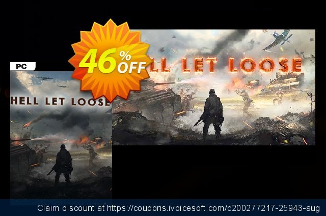 Hell Let Loose PC discount 60% OFF, 2020 Thanksgiving Day promo sales