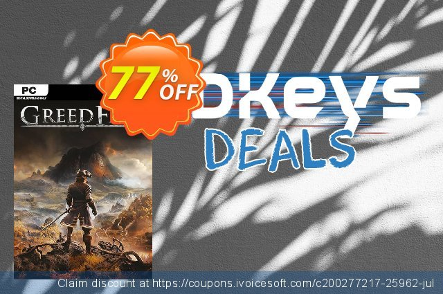 Greedfall PC discount 43% OFF, 2021 New Year's Weekend offering sales