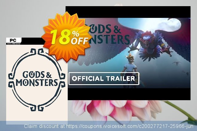 Gods & Monsters PC discount 18% OFF, 2020 Thanksgiving offering sales