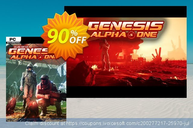Genesis Alpha One - Deluxe Edition PC discount 60% OFF, 2020 Christmas offering sales