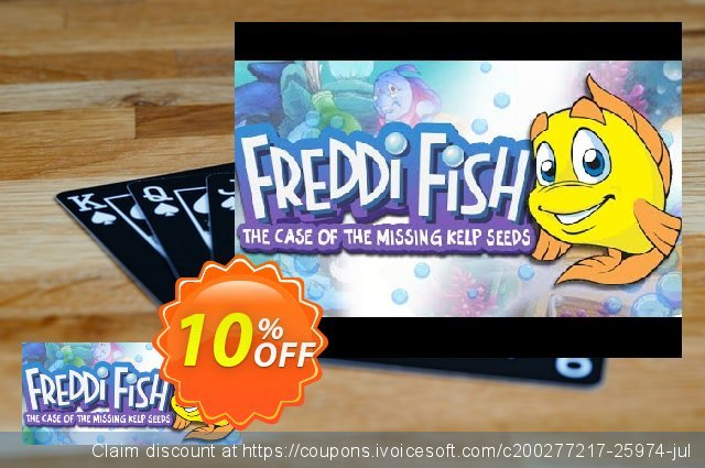 Freddi Fish and the Case of the Missing Kelp Seeds PC  특별한   세일  스크린 샷