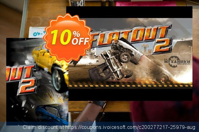 FlatOut 2 PC discount 10% OFF, 2020 Thanksgiving Day offering sales