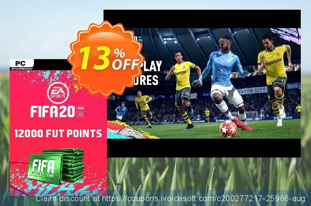FIFA 20 Ultimate Team - 12000 FIFA Points PC 最 优惠券 软件截图