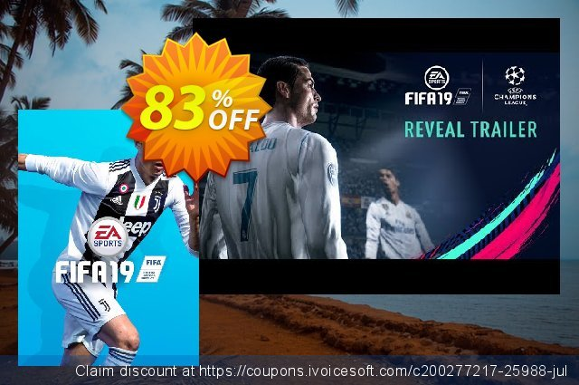FIFA 19 PC discount 86% OFF, 2020 Thanksgiving Day offering sales