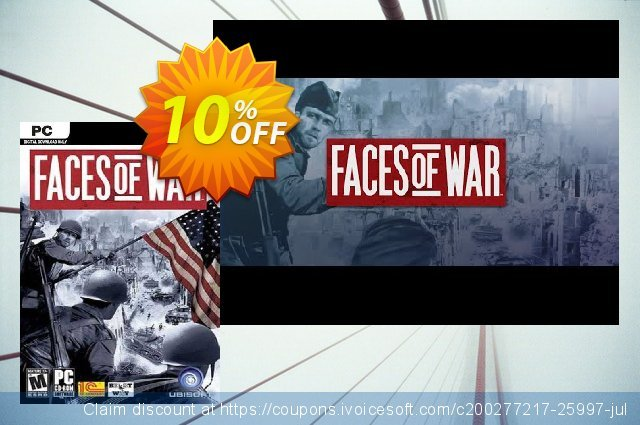 Faces of War PC discount 10% OFF, 2020 Thanksgiving Day offering discount