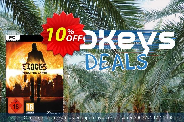 Exodus from the Earth PC discount 10% OFF, 2020 Thanksgiving offering deals