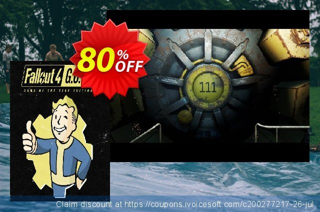 Fallout 4: Game of the Year Edition PC 令人惊讶的 促销 软件截图