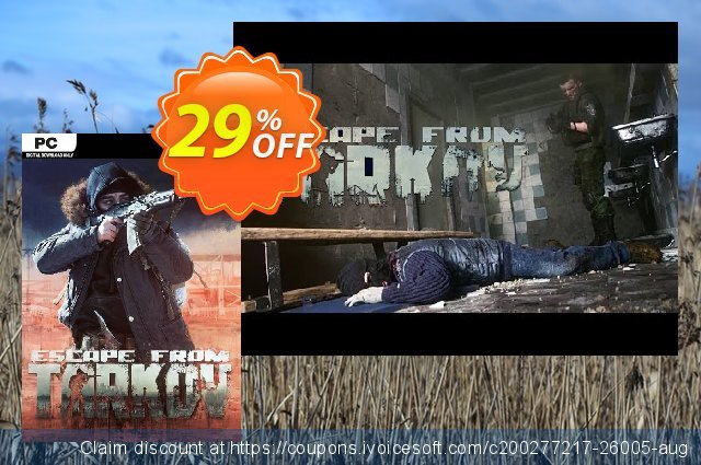 Escape From Tarkov PC (Beta) discount 10% OFF, 2020 Thanksgiving offering sales