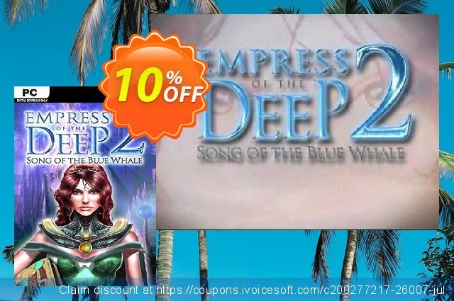 Empress Of The Deep 2 Song Of The Blue Whale PC discount 10% OFF, 2020 Black Friday offering sales