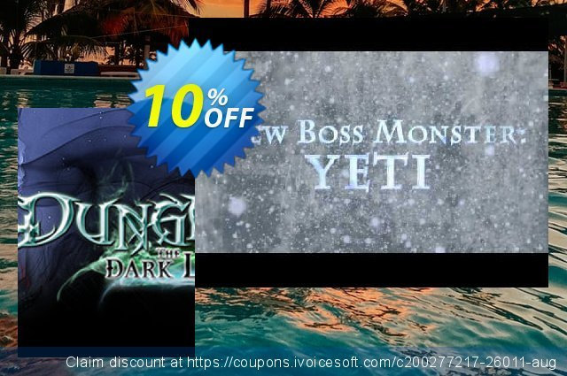 Dungeons The Dark Lord PC discount 10% OFF, 2020 Thanksgiving promotions